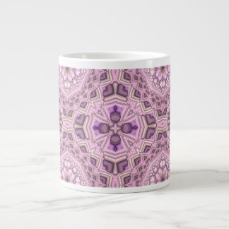 Fancy Pink Giant Coffee Mug