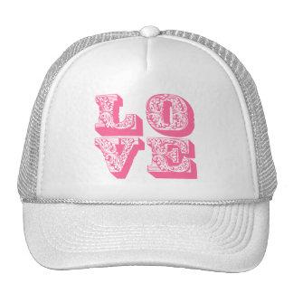 Fancy Pink Love Trucker Hat