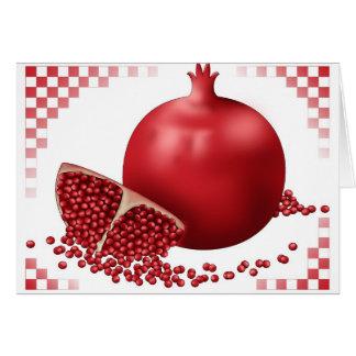 Fancy Pomegranate Card