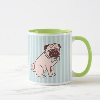 Fancy Pug Mug by Fluff