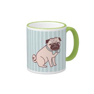 Fancy Pug Mug by Fluff