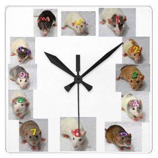 Fancy Rat Clock
