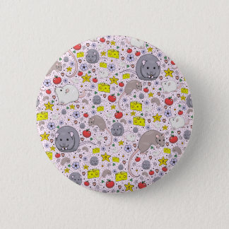 Fancy Rats 2 Inch Round Button