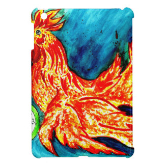 Fancy Rooster Art 2 Cover For The iPad Mini