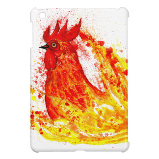 Fancy Rooster Art 4 iPad Mini Case