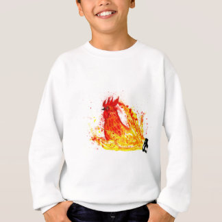 Fancy Rooster Art 4 Sweatshirt