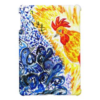 Fancy Rooster Art iPad Mini Cover