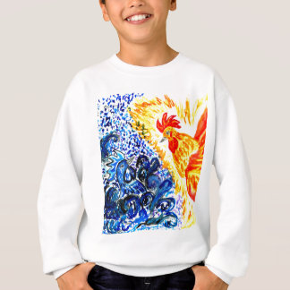 Fancy Rooster Art Sweatshirt