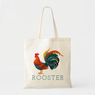 Fancy Rooster Tote Bag