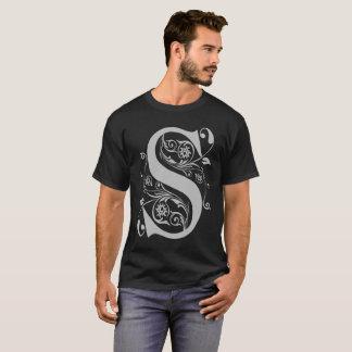 Fancy S Typography T-Shirt