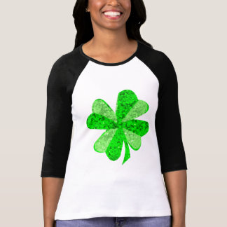 Fancy Shamrock Women's 3/4 Sleeve Raglan T-Shirt