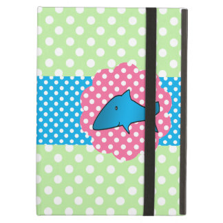 Fancy shark polka dots iPad air case