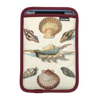 Fancy Shell Beach iPad Mini Sleeves