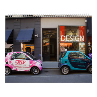 Fancy Smart Cars Wall Calendar 2018