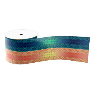 Fancy Stripes Candy Grosgrain Ribbon
