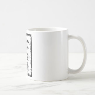 Fancy Tail Classic White Coffee Mug