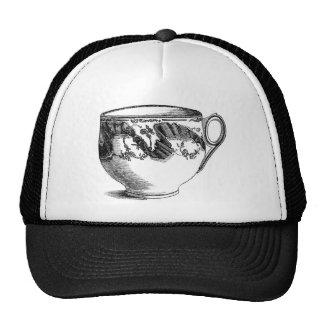 Fancy Teacup Mesh Hat