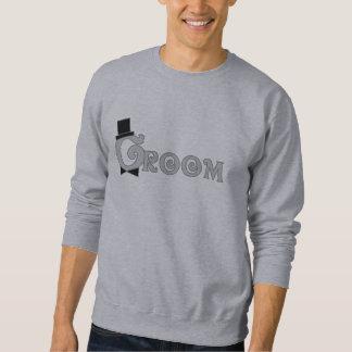 Fancy Text Groom Sweatshirt