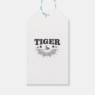 fancy tiger logo gift tags