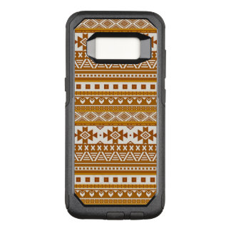 fancy tribal border pattern 08 golden (I) OtterBox Commuter Samsung Galaxy S8 Case