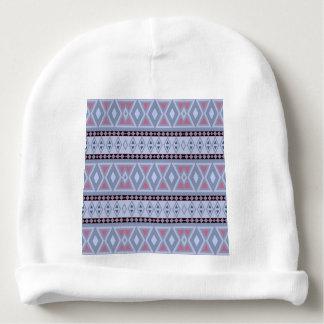 Fancy tribal border pattern baby beanie