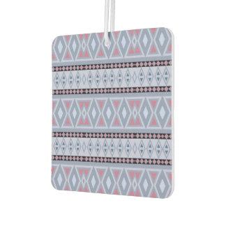 Fancy tribal border pattern car air freshener