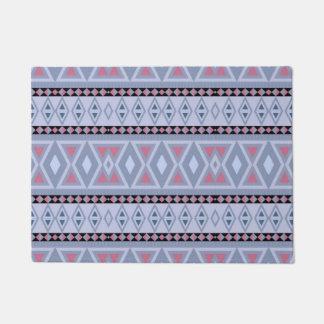 Fancy tribal border pattern doormat