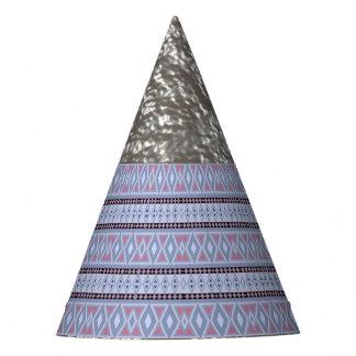 Fancy tribal border pattern party hat