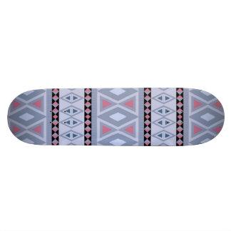 Fancy tribal border pattern skate deck