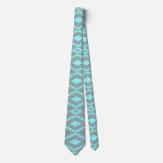 Fancy tribal border pattern tie