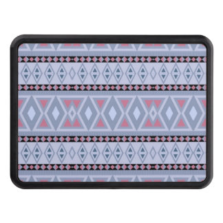 Fancy tribal border pattern trailer hitch cover
