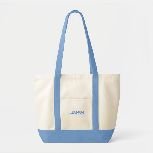 Fancy Two-Color Tote Tote Bag