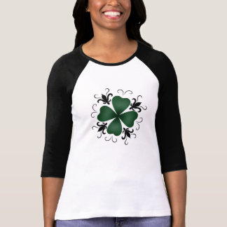Fancy Victorian shamrock T-Shirt