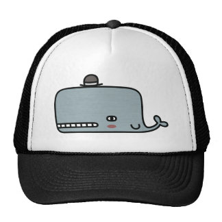 Fancy Whale Trucker Hats