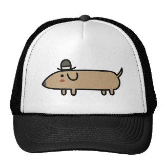 Fancy Wiener Dog with Hat