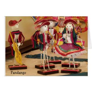 Fandango Day of the Dead Dancers Card