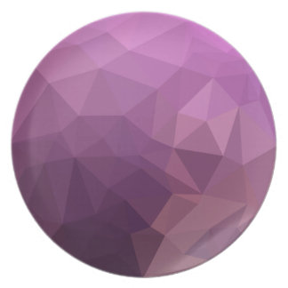 Fandango Lavender Abstract Low Polygon Background Plate