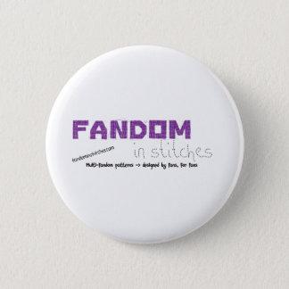 Fandom In Stitches 2 Inch Round Button