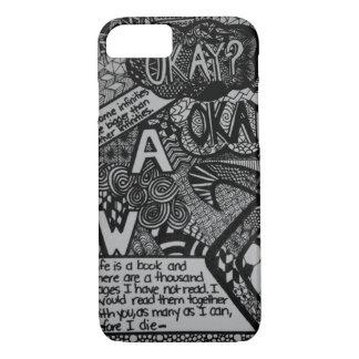 Fandoms in Black & White iPhone 7 Case