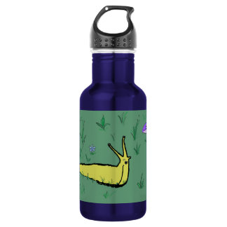 Fanged slug water bottle