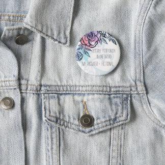 Fangirl Button My Crush is Fictional Pin