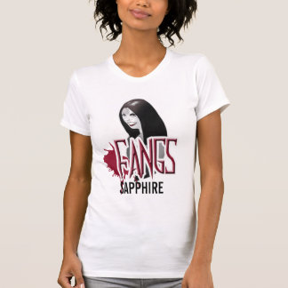 FANGS SAPPHIRE Character T-Shirt Medium