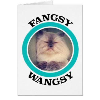 Fangsy Greeting Card