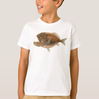 Fangtooth deep sea fish t-shirt