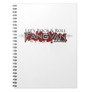 FangVan Let s Rock and Roll Official Note Books