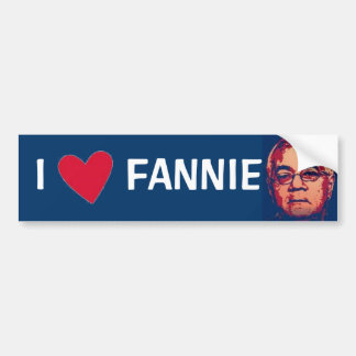 Fannie Bumper Sticker