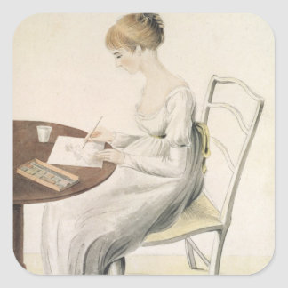 Fanny Austen-Knight Square Sticker