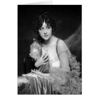 Fanny Brice Card