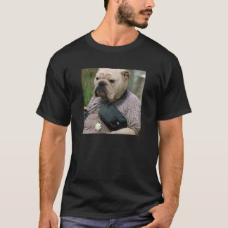 Fanny Pack Bulldog T-Shirt
