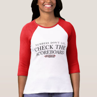 Fanrag Sport's Check the Scoreboard 3/4 Length T-Shirt
